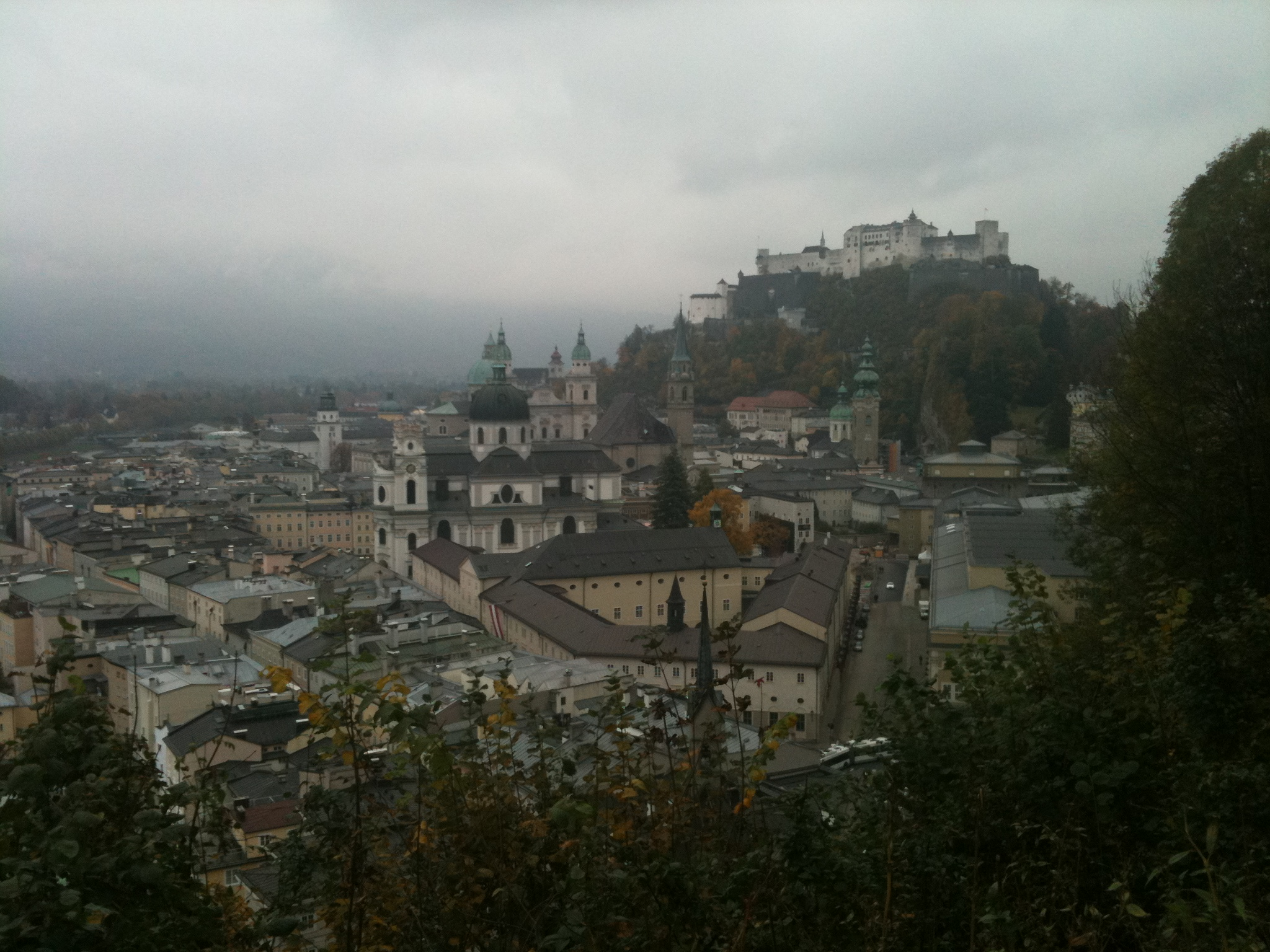 A grey day in Salzburg
