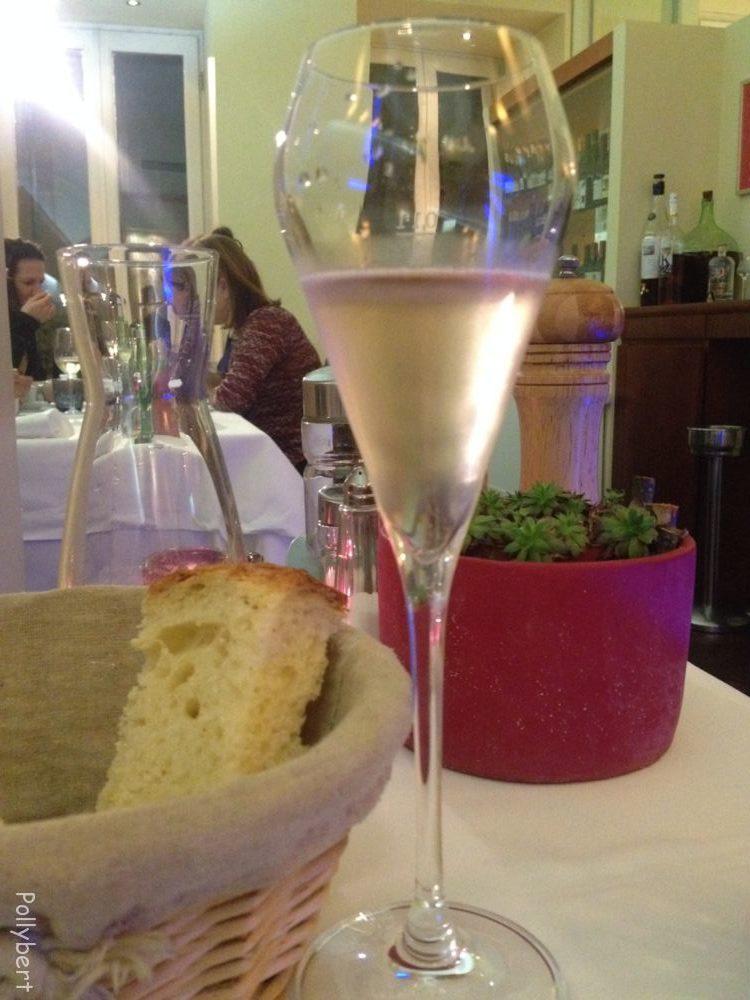 rosé prosecco @La Pasteria