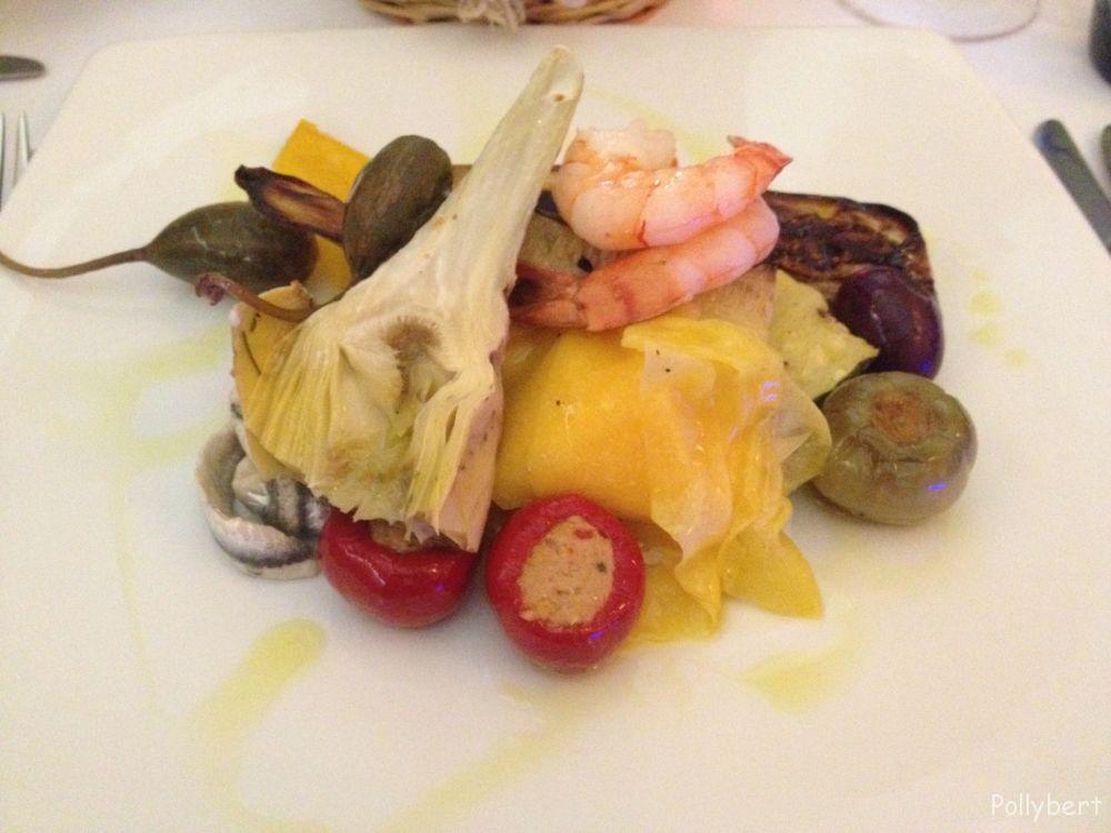 antipasti misti with fish @La Pasteria