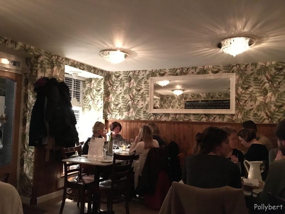 dining room @Cafe Marlayne Edinburgh