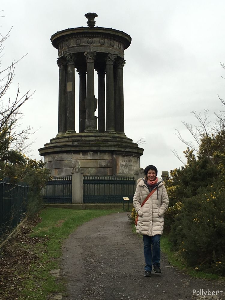 Dugald Stewart Monument at Carlton Hill @Edinburgh, Scotland