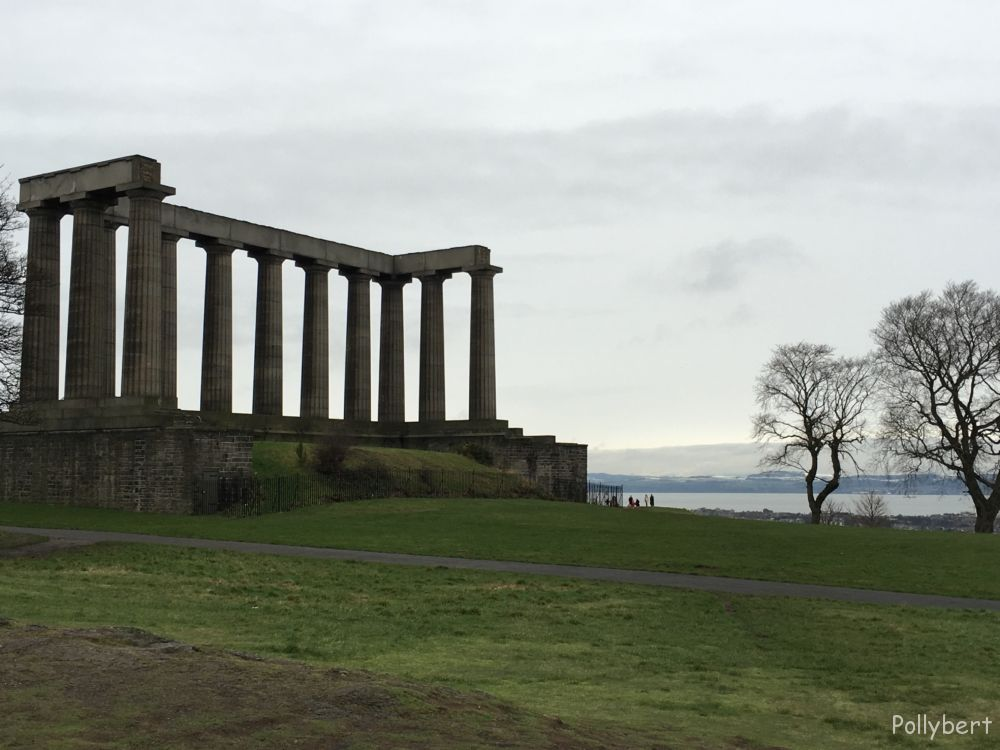 National Monument at Carlton Hill @Edinburgh, Scotland
