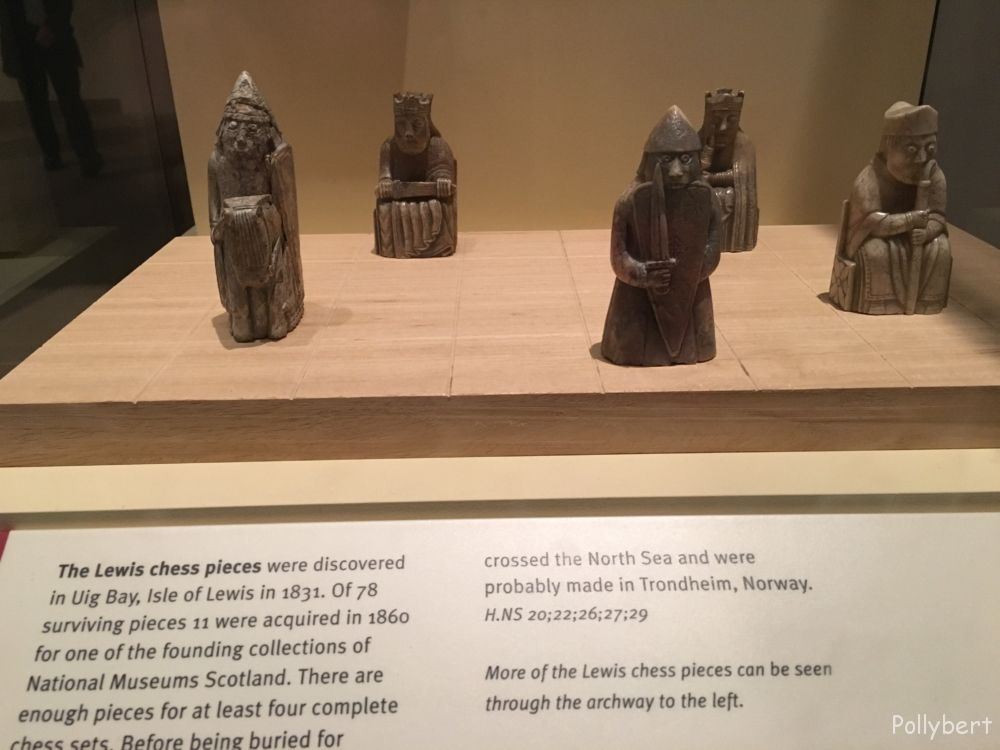 Lewis chess pieces from the 12th century @Edinburgh, Scotland