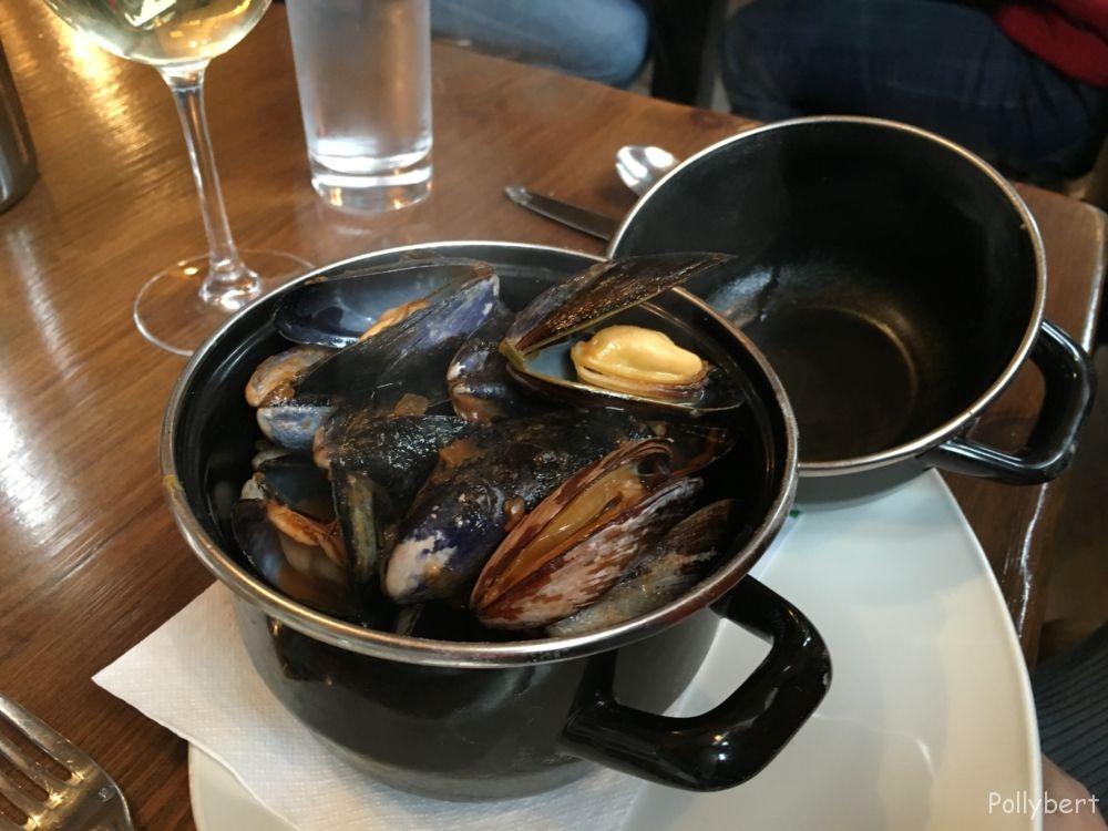 mussels @Howies Edinburgh