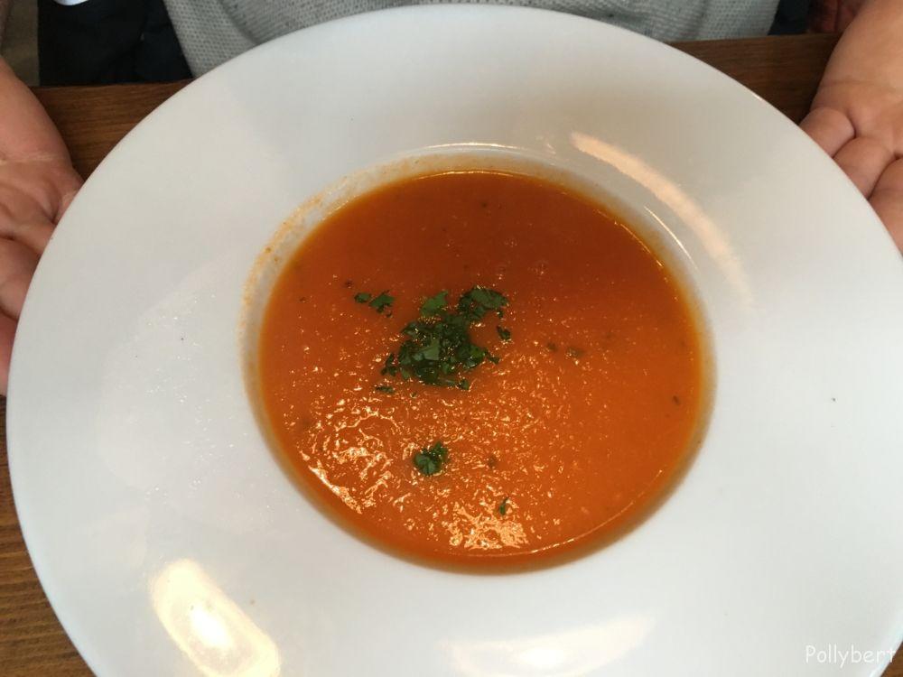 tomato soup @Howies Edinburgh