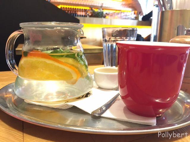 hot lemonade @Erich, Vienna
