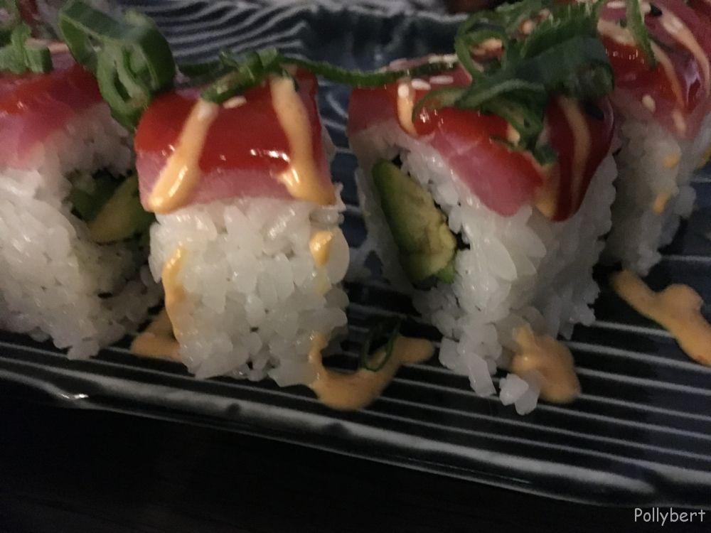 spicy tuna roll @IKO Kitchen & Bar