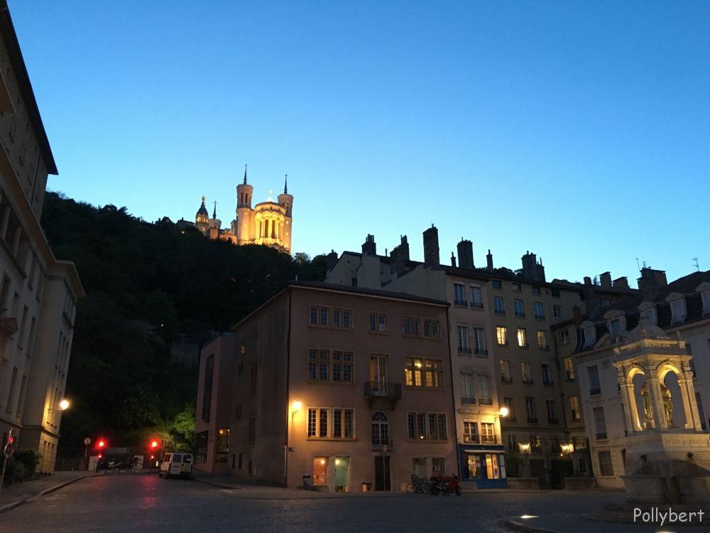 Basilica Notre Dame on Fouvrière @Lyon