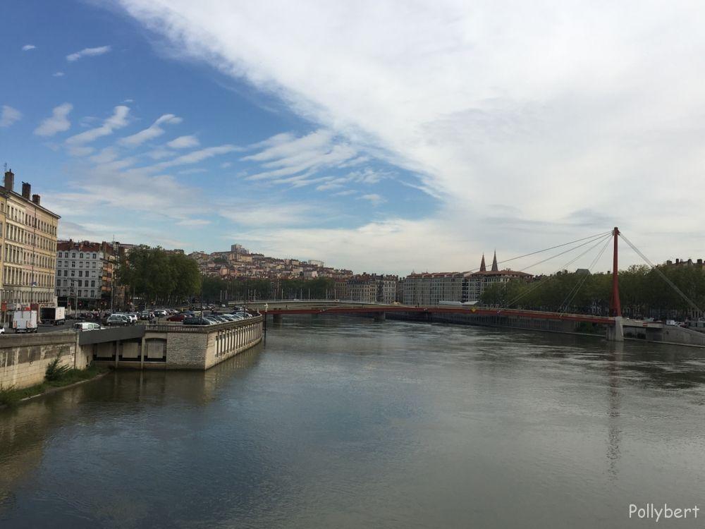 crossing the Saone @Lyon