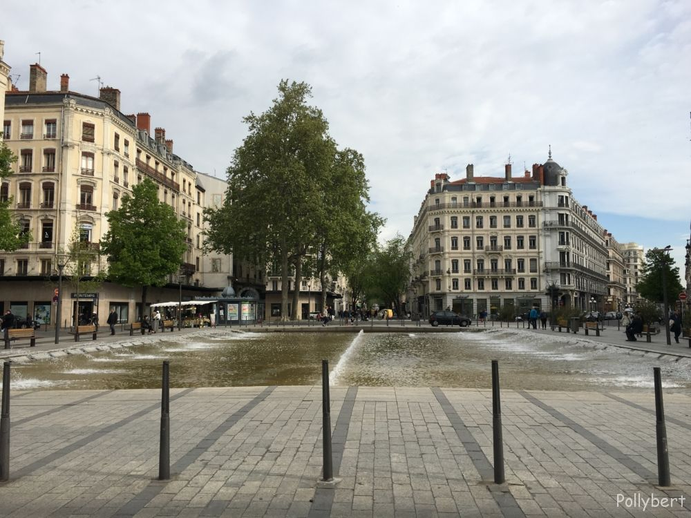 in the heart of Lyon