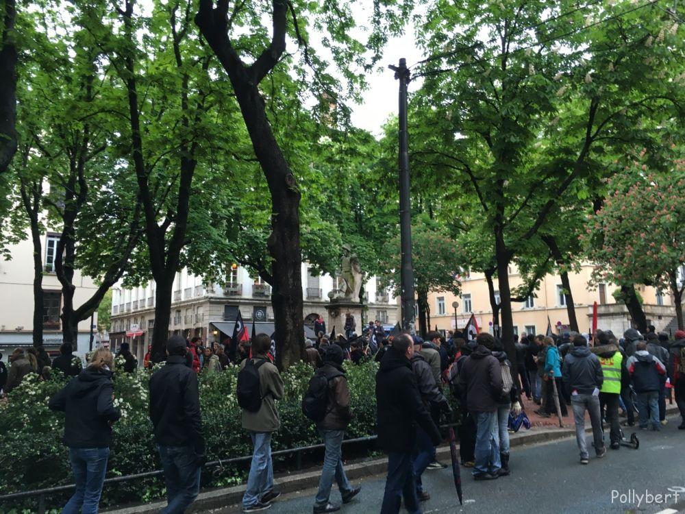 manifestation @Lyon