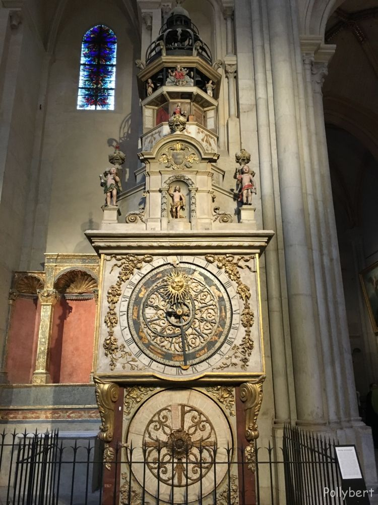 astronomical clock St. Jean Baptiste @Lyon