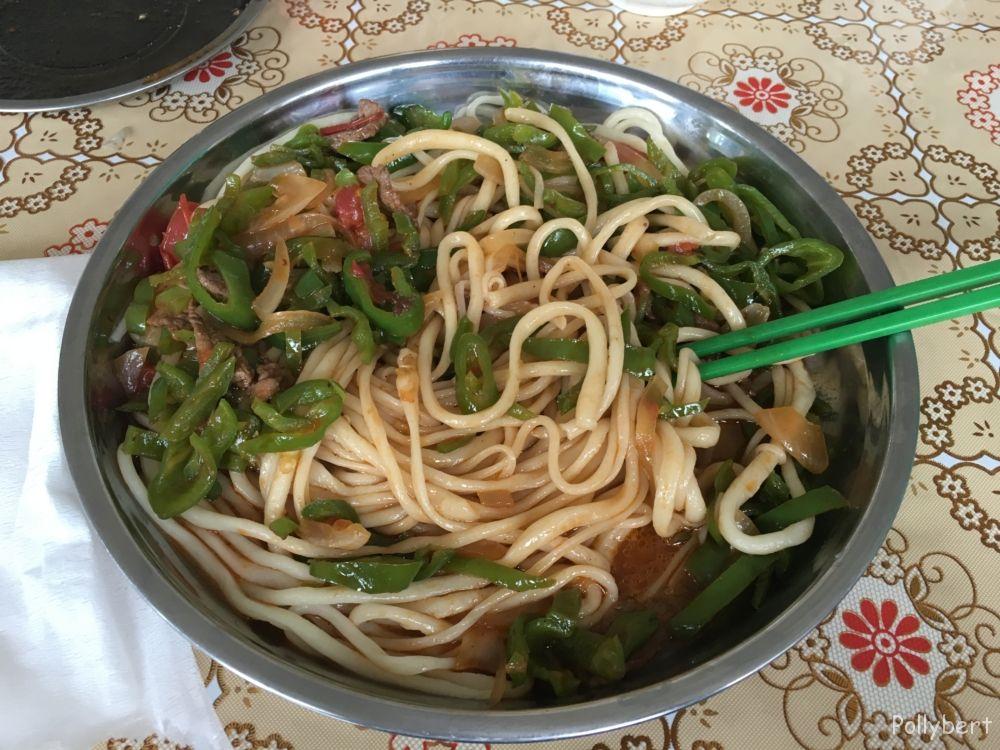 Laghman noodles @Xinjiang province