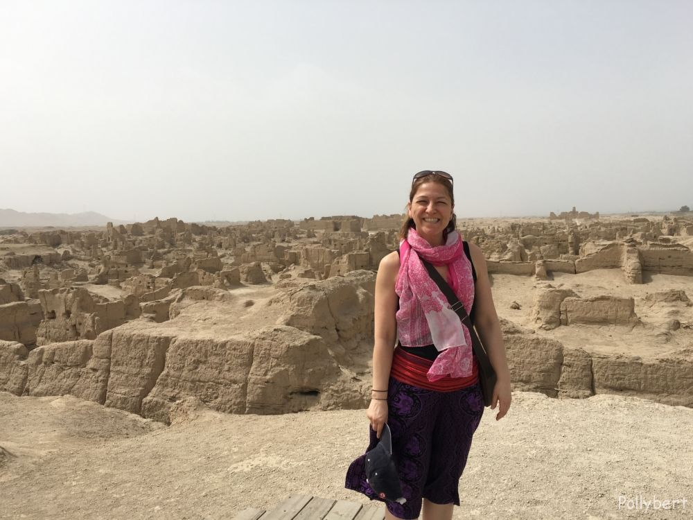 Pollybert with ancient ruins of Yar City