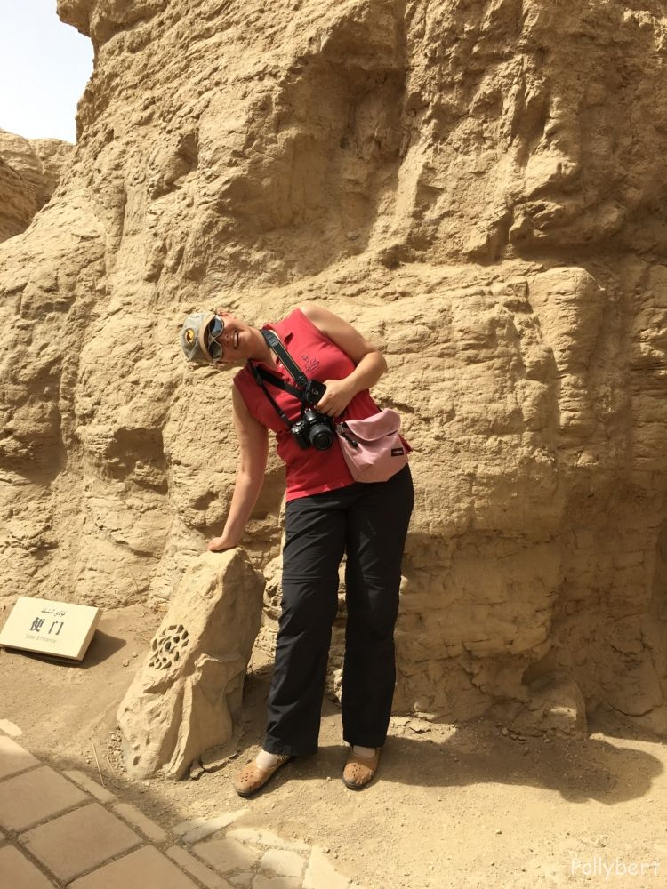 speaker in ancient ruins of Yar City