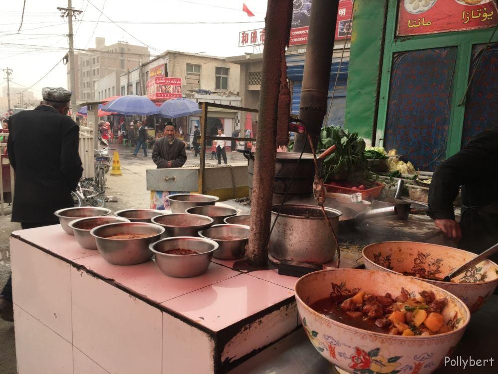 street food in Hotan