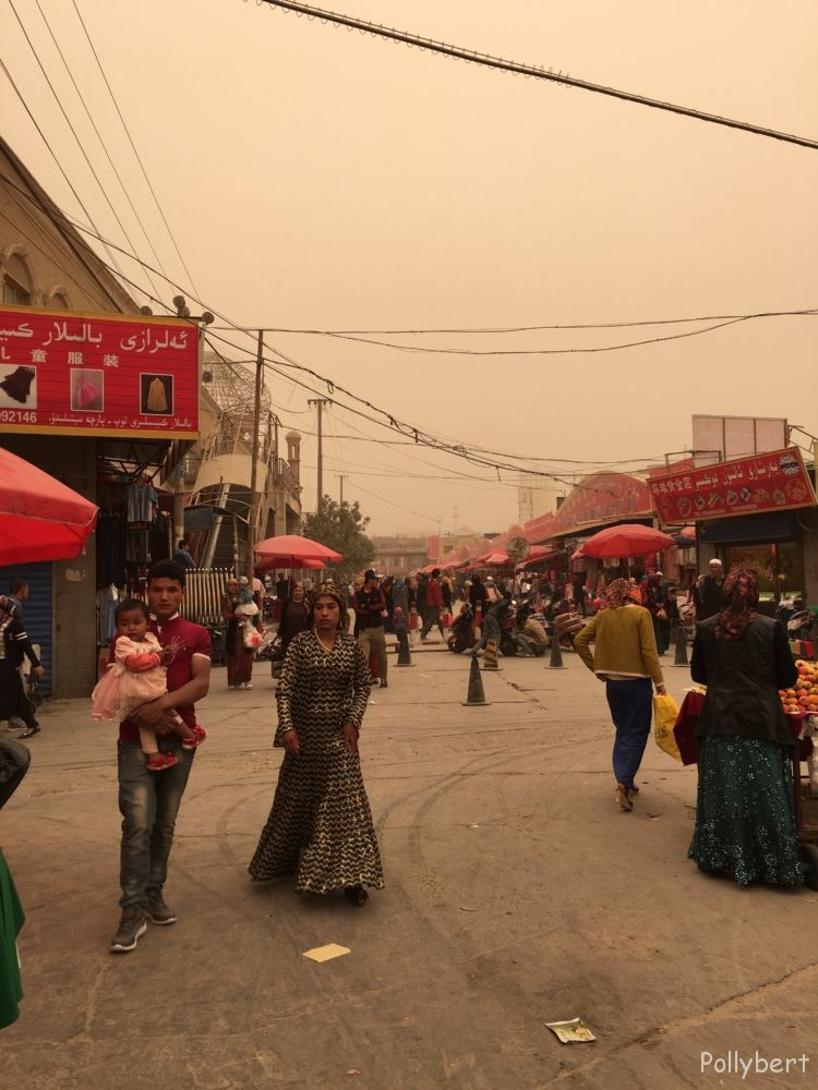 Sunday market @Hotan