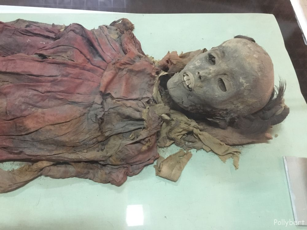 mummy @Hotan Museum