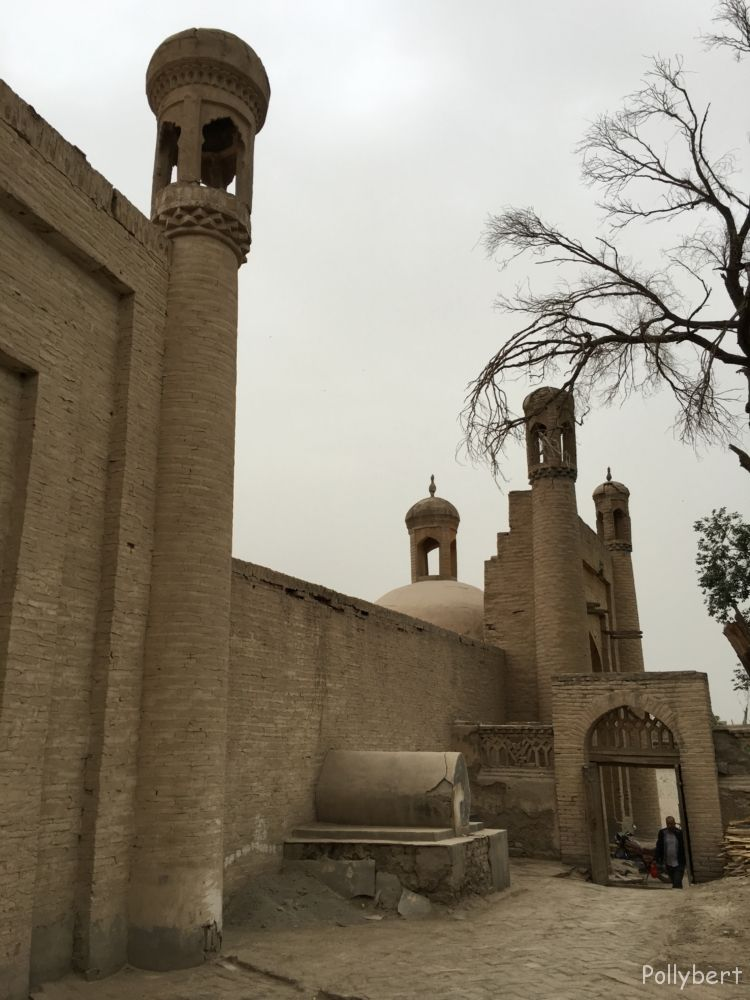 cemetery of Altyn Mosque @Yarkant