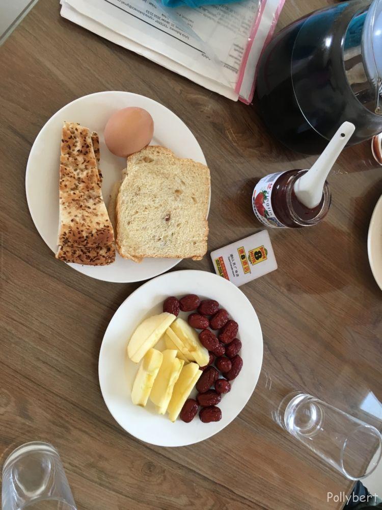 Breakfast at Hotel 8 @Kashgar