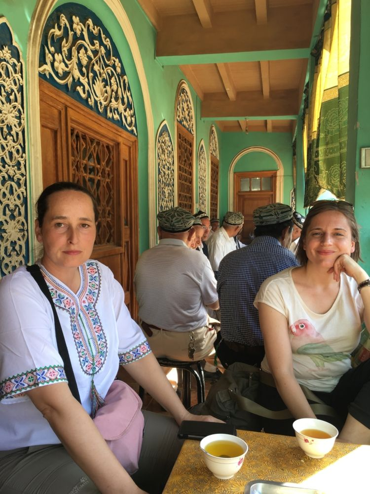 tea house in old town @Kashgar