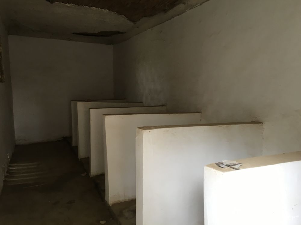 special toilets at the carpet factory @Hotan