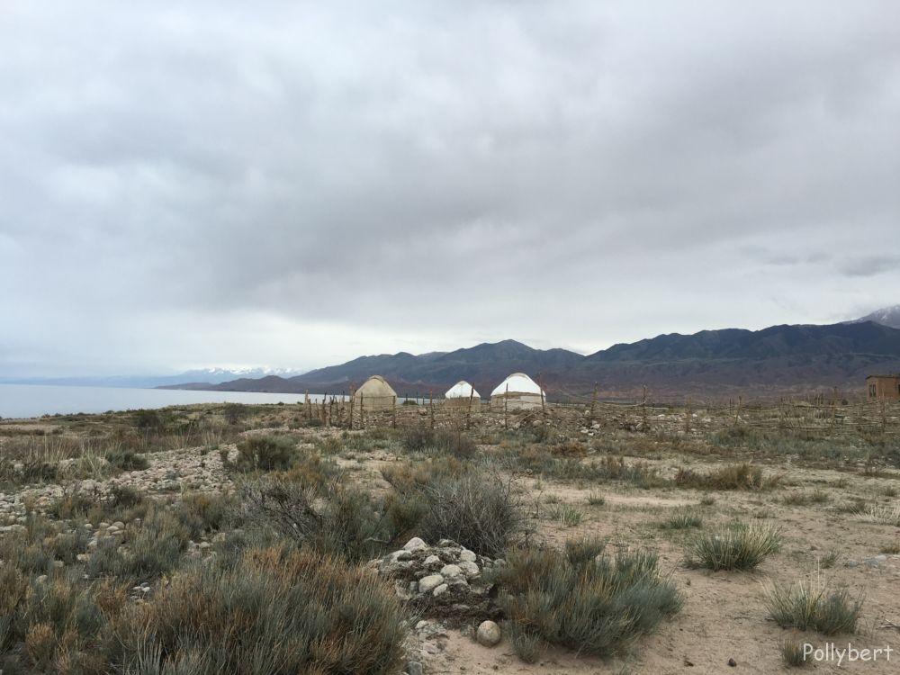 around the yurt camp @Issyk-Kul