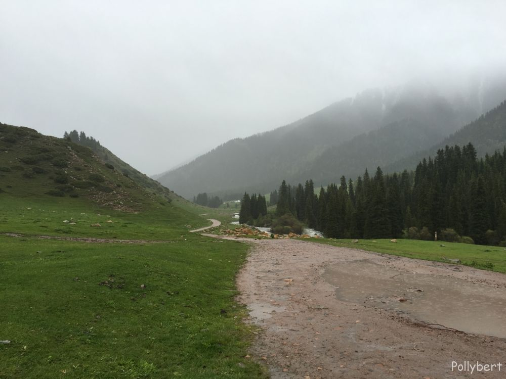 Jeti-Oguz valley near Seven Bulls