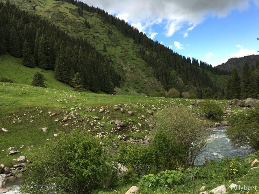 from Altyn Arashan to Karakol