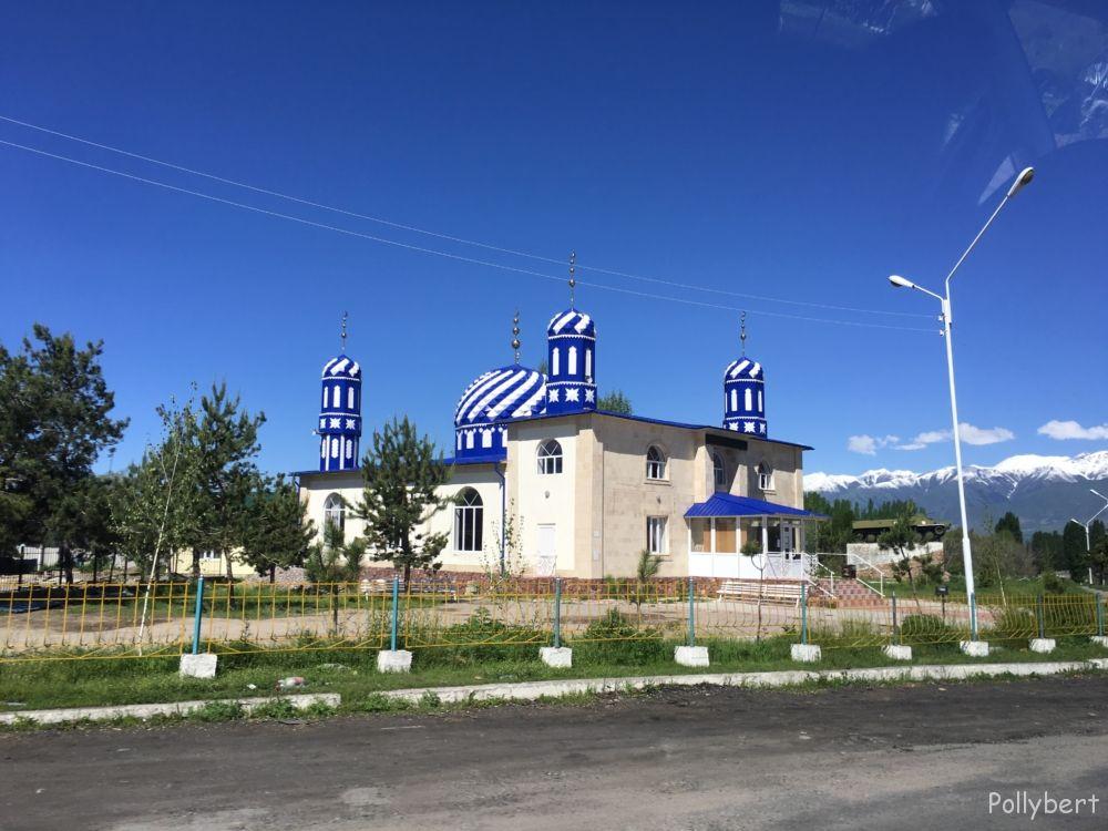 blue mosque @Kyrgyzstan