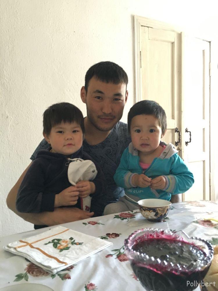 Tilek's family @Kyrgyzstan