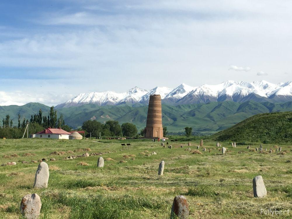 Burana Tower @Kyrgyzstan