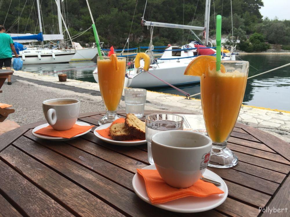 breakfast in Gaios @Paxos