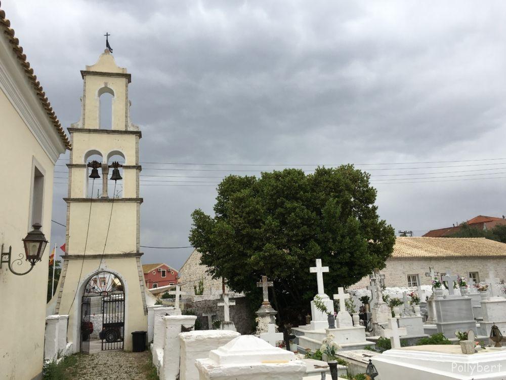 Gaios church cemetery