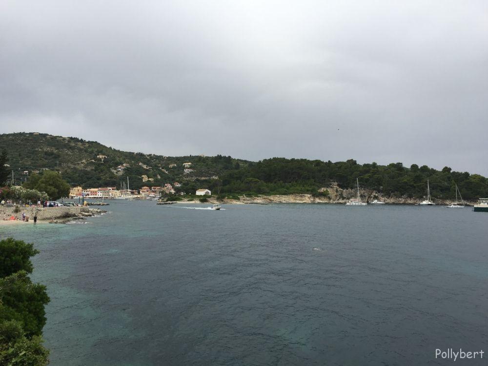 overlooking Gaios port @Paxos