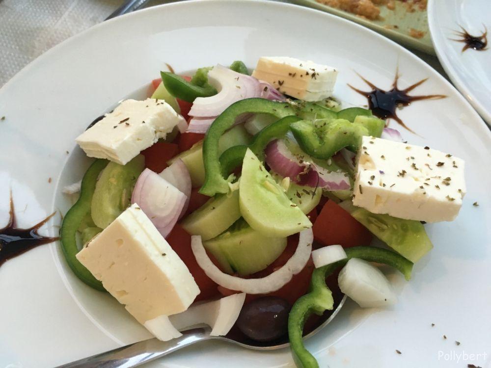 Greek salad @Paxos