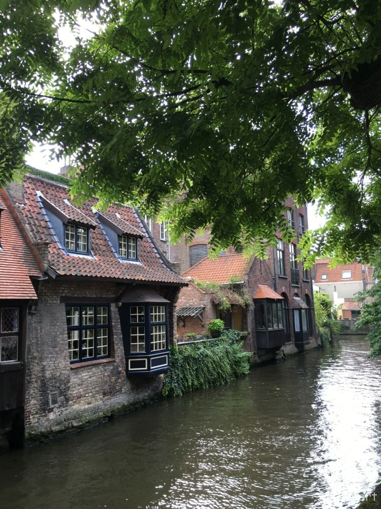 near Bonifacius bridge @Bruges