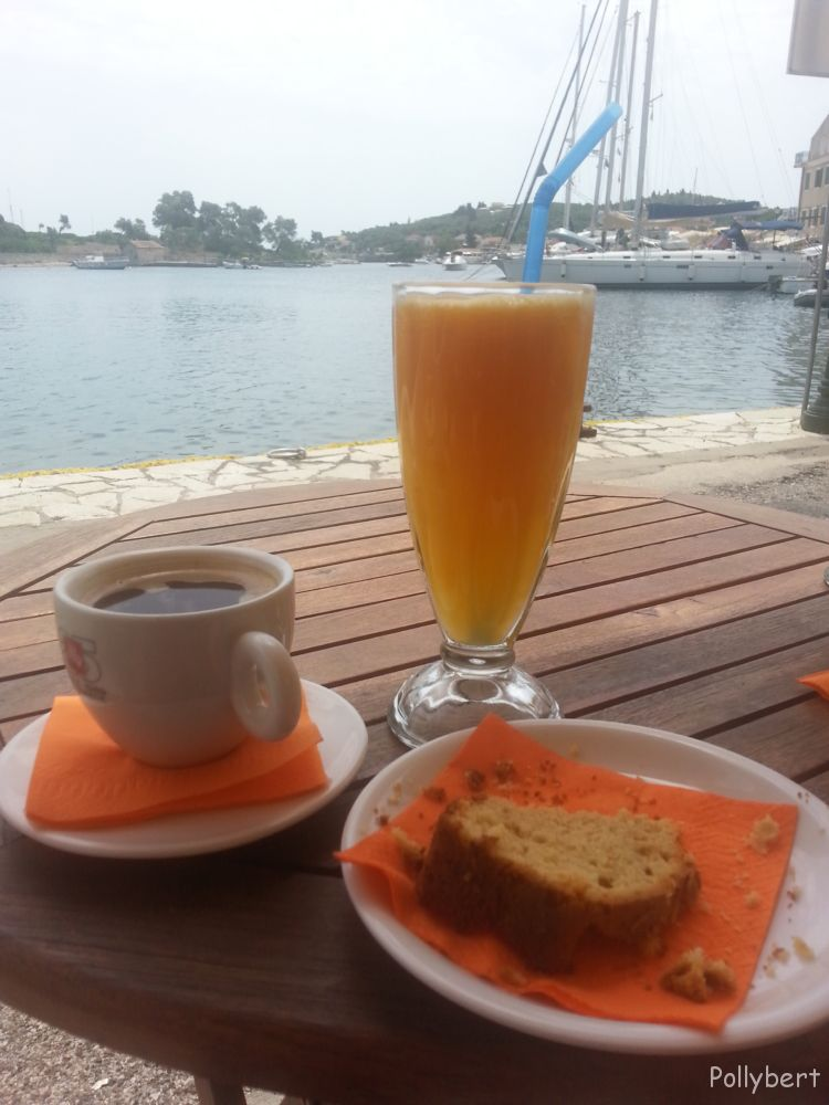 coffee and cake @Paxos