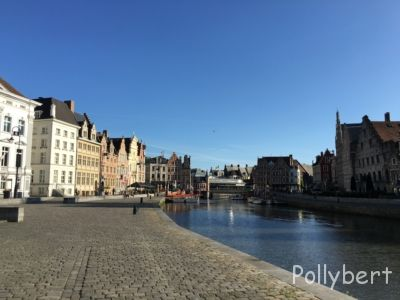 empty streets on Sunday morning @Ghent