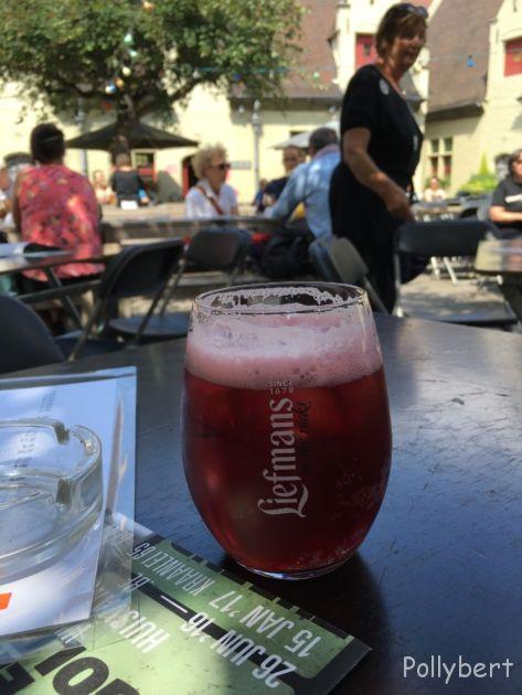 cherry beer @Ghent