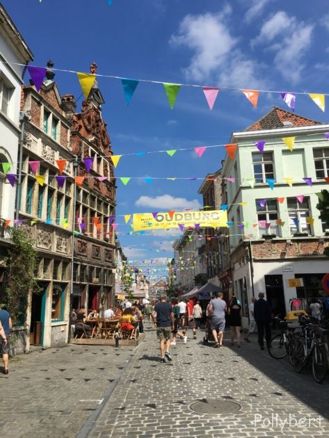 the streets of Ghent