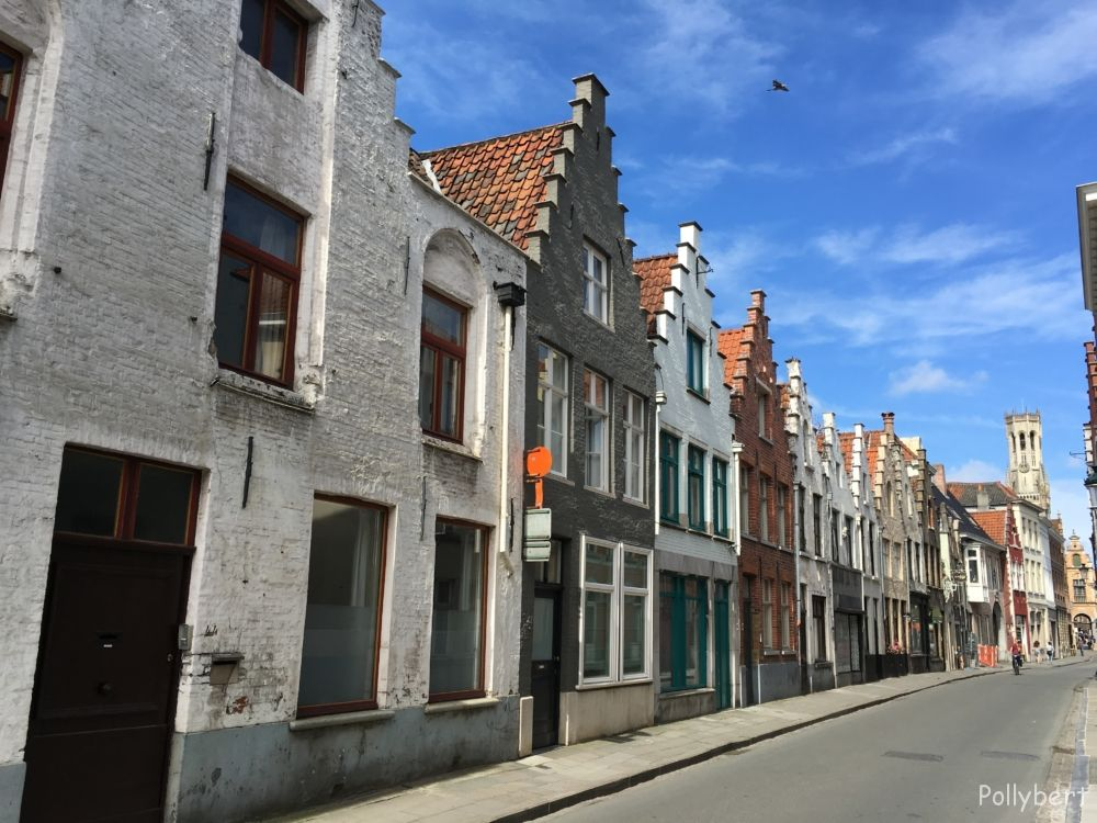 the little streets of Bruges