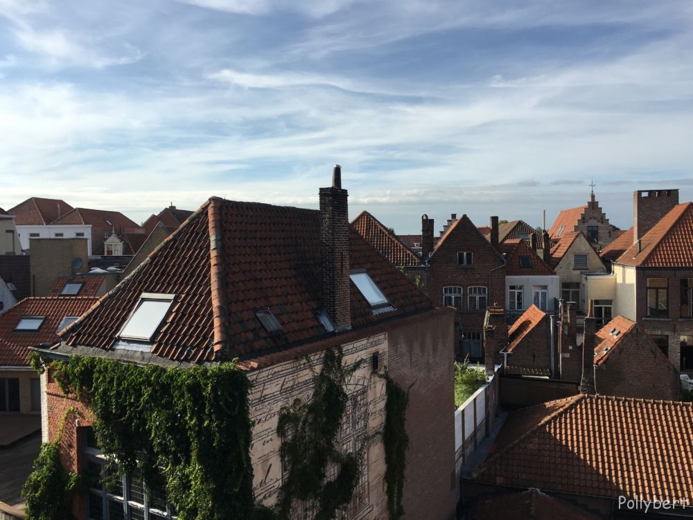 the view from my room @Bruges