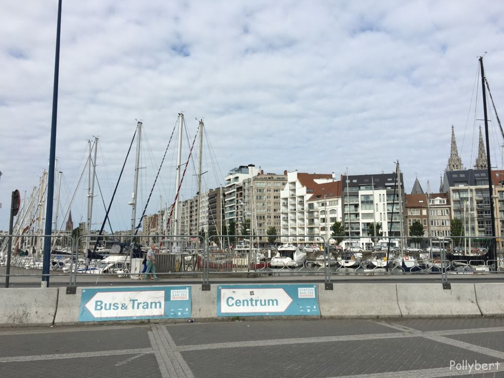 arriving in Ostend