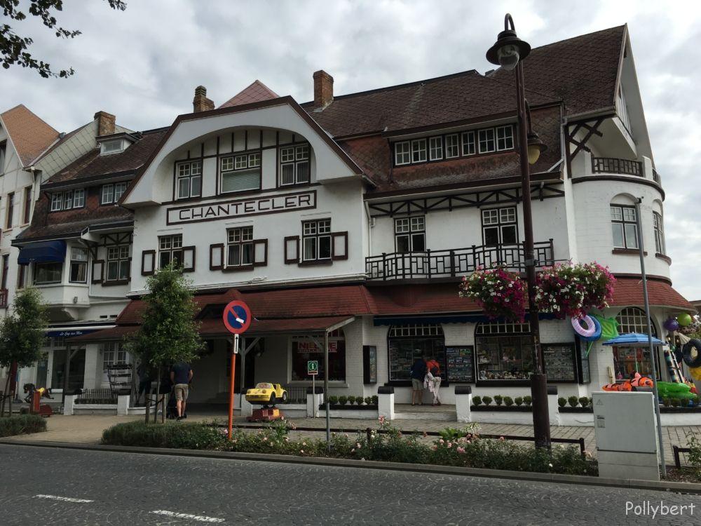 typical house in De Haan