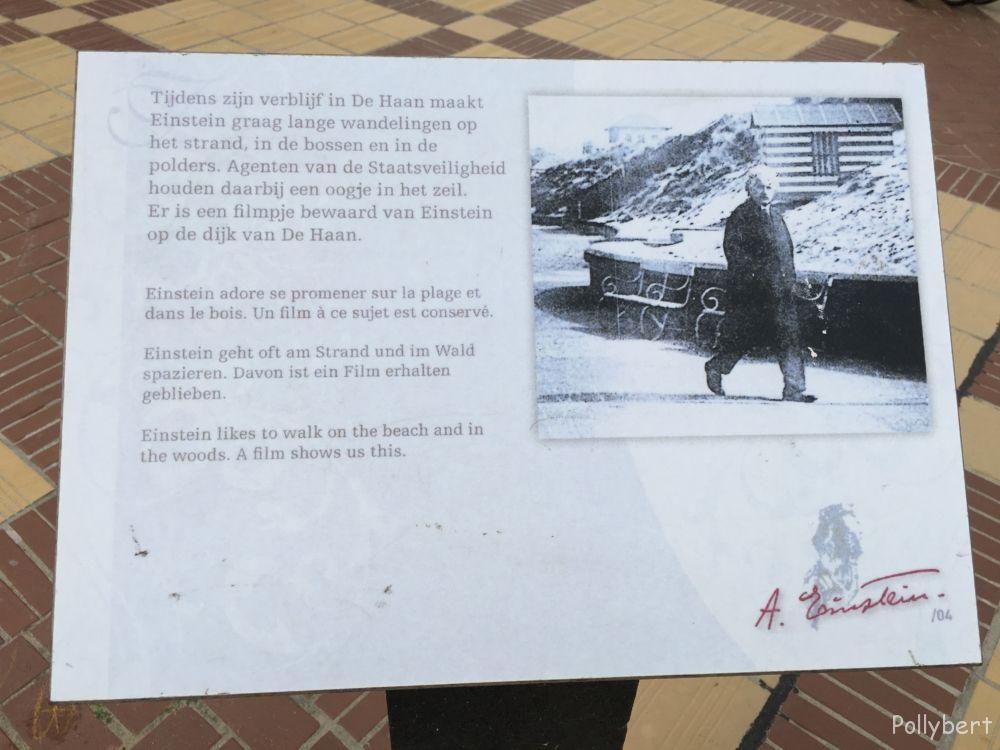 following the footsteps of Albert Einstein @De Haan