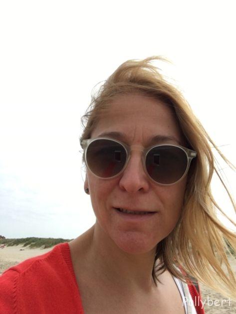 Pollybert at the beach @De Haan