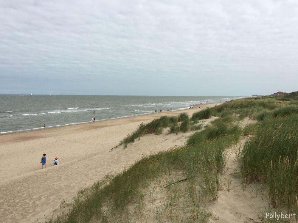 the beach @De Haan