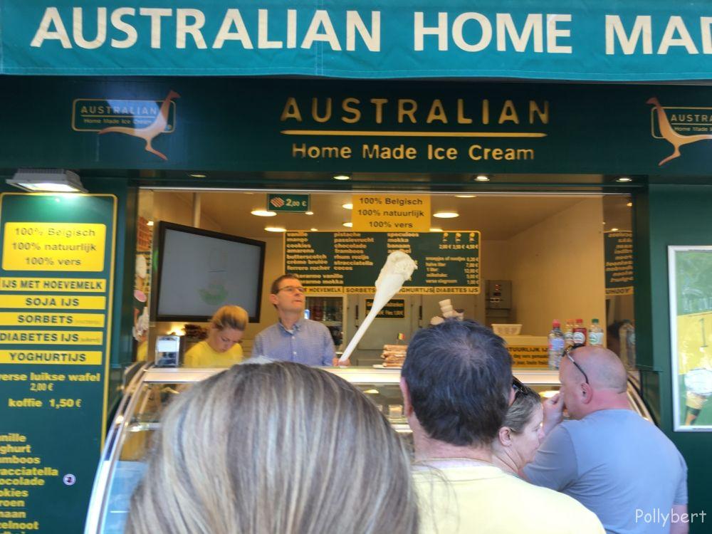 Australian ice cream @De Haan