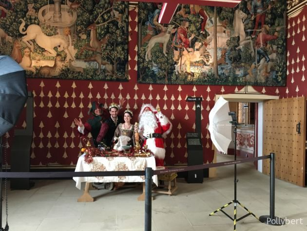 already Christmas in Stirling Castle